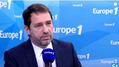 Christophe Castaner invité d'Europe 1 le jeudi 18 janvier 2018 / © Capture d'écran Youtube Europe 1