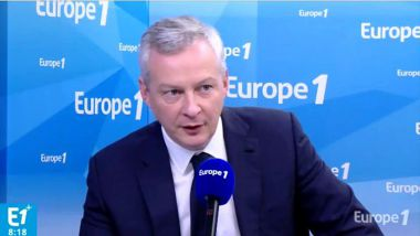 Bruno Le Maire invité d'Europe 1 le 19 janvier 2018 / © Capture d'écran Europe 1