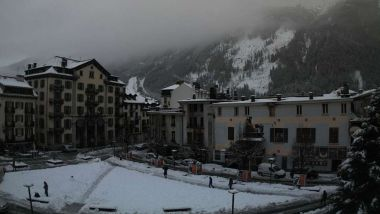 © Webcam Office du tourisme de Chamonix.