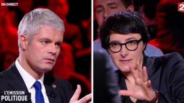 Laurent Wauquiez face à Amélie Georgin, maman toulousaine / © France 2
