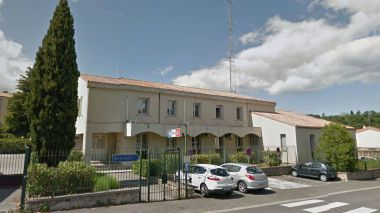 Lodève (Hérault) - la gendarmerie - archives / © Google map