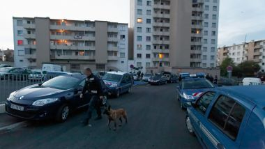 Intervention gendarmerie quartier des Oeillets à Toulon - Archives / © Maxppp