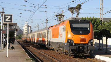 Locomotive Prima II on Track Morocco / © Alstom