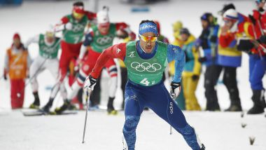 Le haut-alpin Richard Jouve fait un superbe sprint final. / © DIEGO AZUBEL/EPA/Newscom/MaxPPP