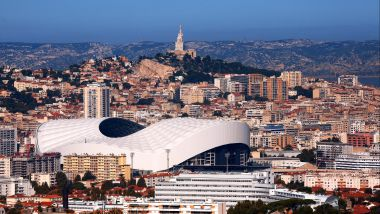 L'Orange Vélodrome à Marseille / © MAXPPP