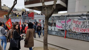 Le site Tolbiac de l'Université Paris 1, le 11 avril 2018. / © MT - France 3 Paris - Île-de-France