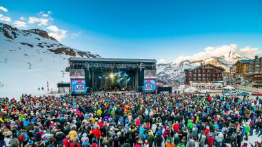Live in Tignes by francofolies. / © Andyparant.