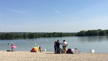 Grand Parc de Miribel-Jonage : plage de Morlet / © S.Adam