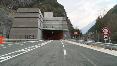 Le tunnel de Saint-Béat, le plus fréquemment fermé de France. / © Marc Raturat/France 3 Occitanie