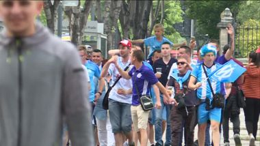 Les premiers supporters arrivent à l'Orange Vélodrome / © France 3 Provence