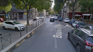 Le boulevard d'Arras où a eu lieu l'agression / © Photo Google Map