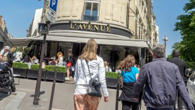 Le restaurant L'Avenue, à Paris. / © Bruno Levesque MaxPPP