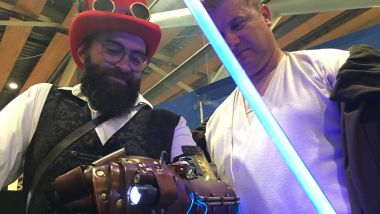 """Le style """"Steampunk""""aux Geek Days / © France 3 Nord"""
