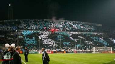 Le groupe Yankee Nord accompagne l'OM depuis 1987. / © MICHEL CLEMENTZ/WORLDPICTURES/MAXPPP