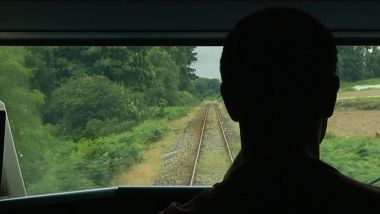 Conducteur de train en silhouette / © F3