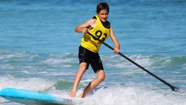 Le Sup Polo, un sport issu de la pratique du Stand Up Paddle / © Counselling / Pixabay.com
