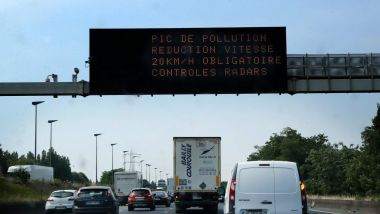 Illustration d'un pic de pollution. / © MaxPPP