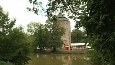 La Tour Duguesclin, reprise aux Anglais par Bertrand Duguesclin en 1354 à Grand-Fougeray (35) / © M-A M - France 3 Bretagne