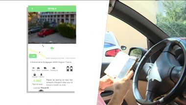 L'application permet de trouver facilement des places de parking libres / © Photo Olivier Ducros-Renaudin/France3 Provence