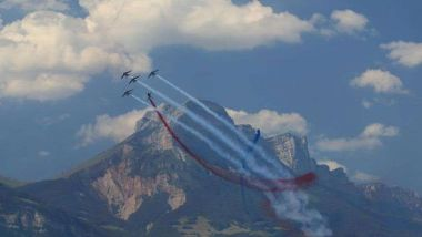 La Patrouille de France au Grenoble Air Show, au Versoud, le 7 juillet 2018 / © Air Grenoble Show