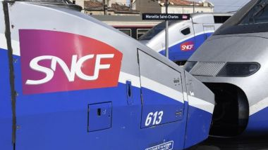 TGV en gare de Marseille / © Photo Christophe Simon/AFP