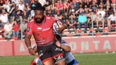 Le capitaine du RC Toulon lors d'un match contre Montpellier. / © PHOTOPQR/NICE MATIN