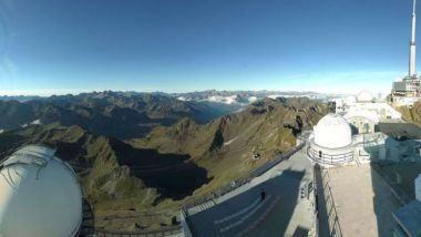 © Webcam Pic du Midi le 1er octobre 2018