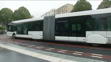 Rouen : un bus TEOR / © France 3 Normandie