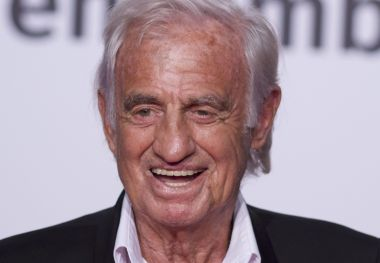 Jean-Paul Belmondo au Festival Lumière, à Lyon, le 13 octobre 2018. / © James Colburn / ZUMA PRESS/MAXPPP