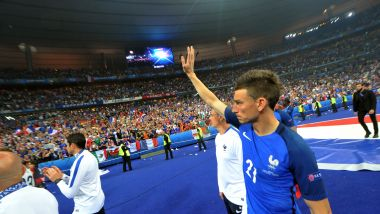 Laurent Koscielny en Bleu, une image que l'on ne verra plus. / © Quentin Reix/ PHOTOPQR/ECHO REPUBLICAIN/MAXPPP
