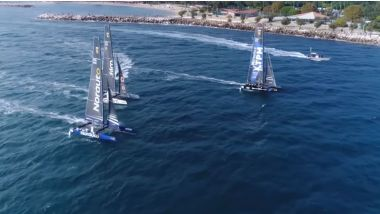 Les images spectaculaires du GC32 Racing Tour. / © GC32 Racing Tour