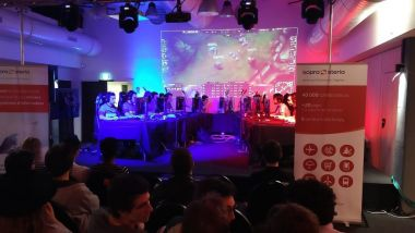 "Ambiance ""gamer"" lors d'un précédent Together Day. / © Sopra Steria"