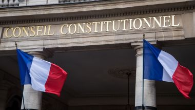 Le Conseil constitutionnel à Paris. / © BERTRAND GUAY / AFP