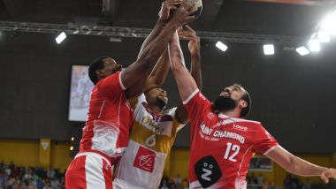 Basket ProB - OLB Orléans Loiret vs Saint-Chamond. Le 3 novembre 2018. / © PHOTOPQR/REPUBLIQUE DU CENTRE/MAXPPP