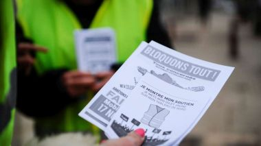 Le mouvement des gilets jaune s'organise pour le 17 novembre. Photo d'illustration. / © PHOTOPQR/JOURNAL DU CENTRE/MAXPPP