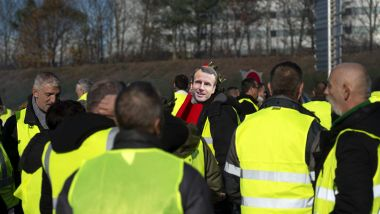 "Une manifestation des ""gilets jaunes"" - Photo d'illustration / © PRESSE OCEAN/MAXPPP"