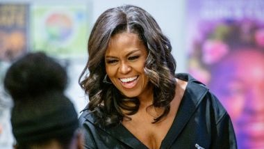 Michelle Obama va reporter sa visite à Paris. / © Roy Rochlin / GETTY IMAGES NORTH AMERICA / AFP