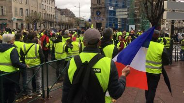 Marche de Gilets jaunes à Limoges. PHOTO D'ARCHIVES. / © Isabelle Rio / France 3 Limousin
