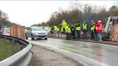 un point de passage filtré par des gilets jaunes dans l'Yonne (illustration) / © FTV