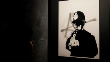 Banksy, genious or vandal? / © PAOLO AGUILAR/EFE/Newscom/MaxPPP