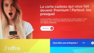 La start-up bordelaise Freemium Play vient de créer une carte cadeau 100 % digitale. / © MR