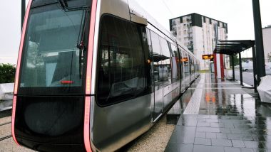 Tram de Tours. Photo d'illustration. / © P. Deschamps / MaxPPP