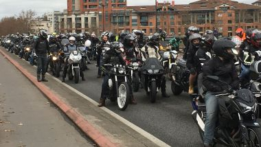 La manifestation des motards en colère à Toulouse / © Christine Ravier/France 3 Occitanie