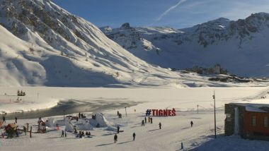 La station de Tignes / © Webcam Tignes.