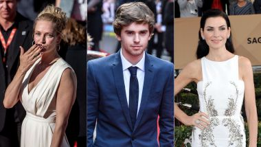 "Uma Thurman (""Kill Bill""), Freddie Highmore (""The Good Doctor"") et Juliana Margulies (""The Good Wife"") seront à Lille fin mars. / © MaxPPP"