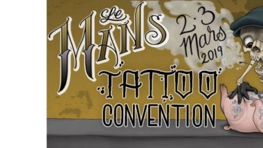 Affiche Tattoo Convention Le Mans