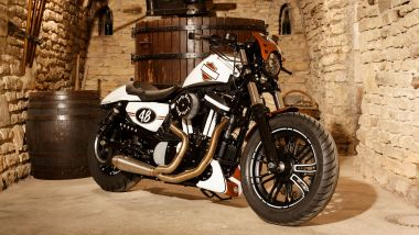 "La Harley 100% troyenne, 9ème de la ""Battle of the King"" / © Harley Davidson Troyes"