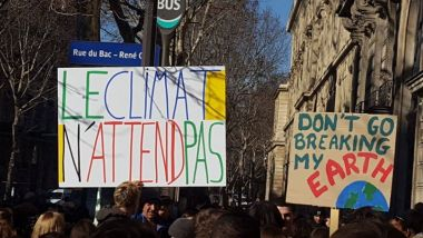 © Facebook @youthforclimateFrance