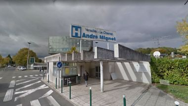 L'hôpital André-Mignot, au Chesnay-Rocquencourt (Yvelines). / © Google Street View (photo 2016)