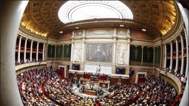 L'hémicycle de l'Assemblée Nationale. / © IP3 PRESS/MAXPPP